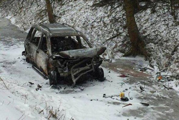 Смертельна аварія на Хмельниччині: «Range Rover» згорів разом із водієм