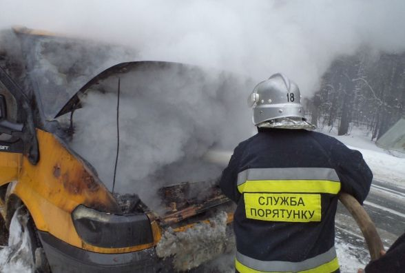 На Хмельниччині згоріли «Ford» і «Audi»