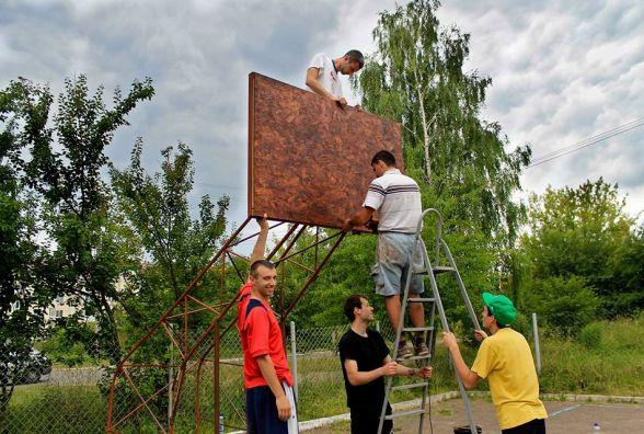 У Хмельницькому можуть зробити сучасний баскетбольний майданчик