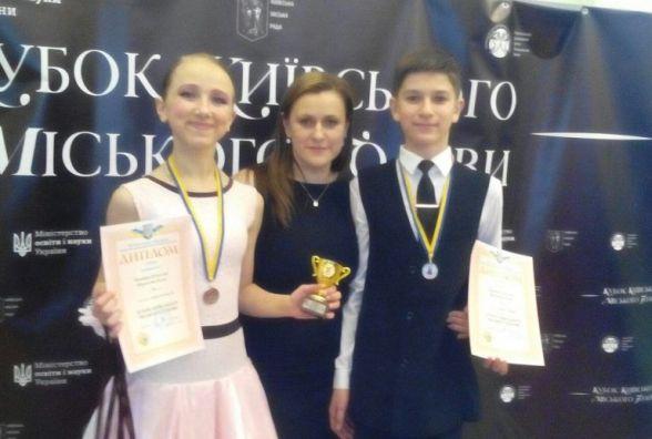 Хмельницькі танцюристи здобули призи в Києві