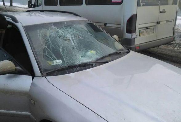 """На Трудовій 36-річна жінка на """"Audi"""" збила чоловіка"""