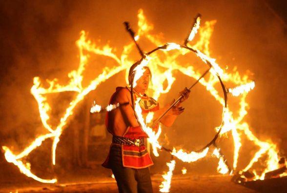 Львівські артисти покажуть хмельничанам вогняну виставу