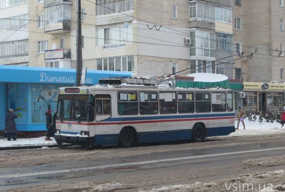 Хмельницьку владу просять змінити маршрут тролейбуса №8