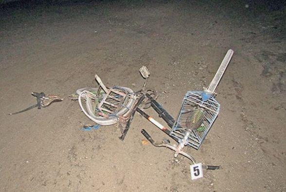 На Хмельниччині п'яний водій іномарки насмерть збив велосипедиста