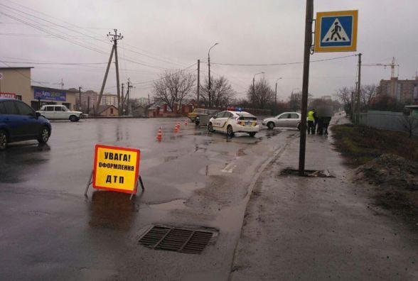У Лезневому зіткнулись два автомобілі