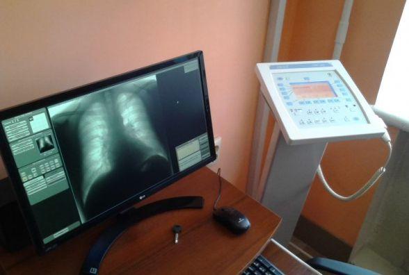 У Деражнянській районній лікарні запрацював новий флюорограф