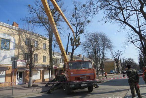 У центрі Хмельницького на тиждень перекриють рух транспорту