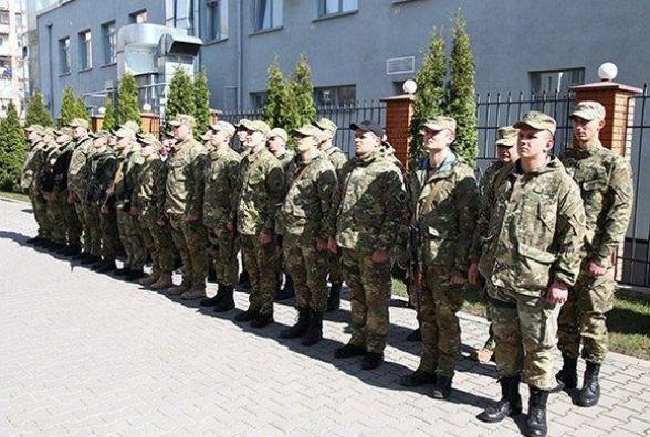 "30 хмельницьких ""богданівців"" вирушили в зону АТО"