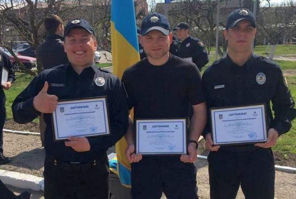 Хмельницькі патрульні в Чернівцях вчилися затримувати порушників