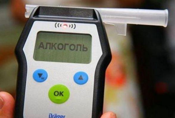 За вихідні у Хмельницькому затримали 8 нетверезих водіїв