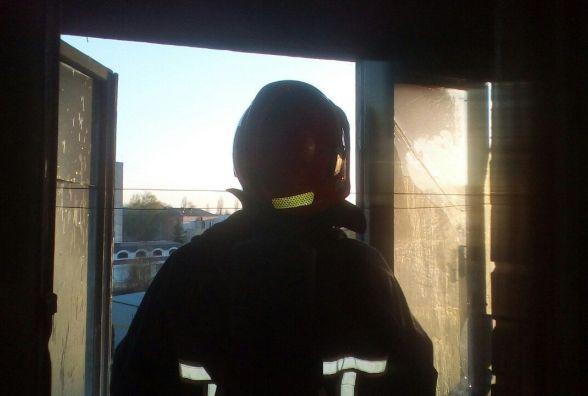 У Волочиську загорівся балкон п'ятиповерхівки