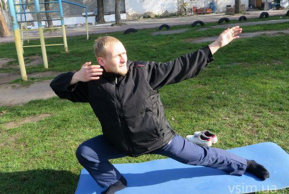 Так тримати! 21-річний Олексій радить вранці збиратись з думками і займатись спортом в кайф