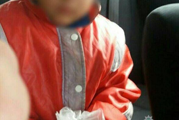 На Катіоні родичі забули чотирирічного хлопчика