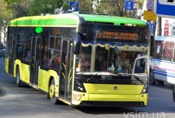 21 квітня в Хмельницькому не ходитимуть нічні тролейбуси