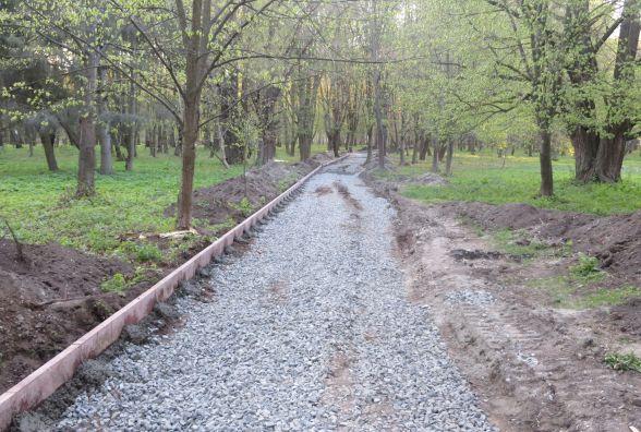 """Від """"чортового колеса"""" у парку Чекмана і до Олімпійської облаштують пішохідну доріжку"""