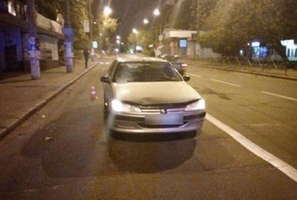 На Кам'янецькій «Peugeot» збив пішохода