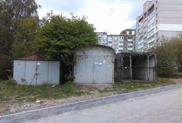 На Озерній можуть демонтувати гаражі, які заважають ремонтувати дорогу