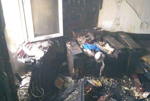 У Шепетівці згоріла квартира. Ніхто не постраждав