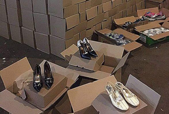На речовому ринку Хмельницького вкрали більше 40 ящиків зі взуттям
