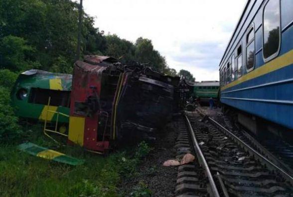 «Укрзалізниця» назвала ймовірні причини зіткнення поїздів під Кам'янцем