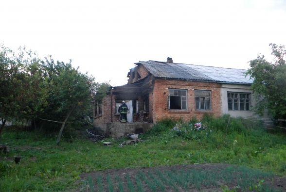 У Хмельницькому районі в своїй хаті згорів чоловік