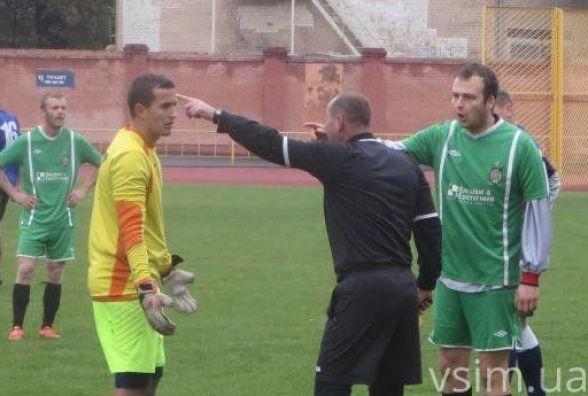 «Оболонь» сенсаційно програє в чемпіонаті Хмельниччини з футболу