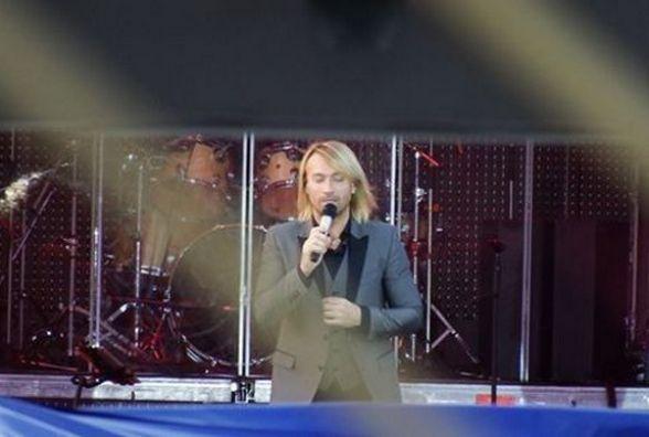 Олег Винник у Хмельницькому: що пишуть про концерт у соцмережах