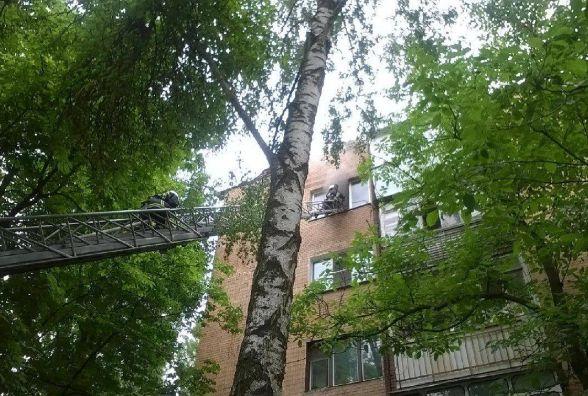 На Зарічанській горіла квартира на п'ятому поверсі