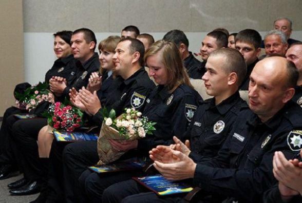У Хмельницькому відзначили кращих поліцейських