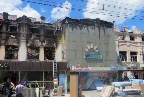 Як виглядає меблева фабрика після нічної пожежі (ФОТО)