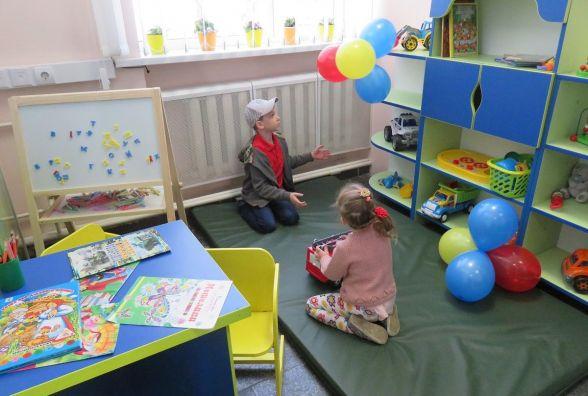 В ЦНАПі на Соборній відкрили нову дитячу кімнату