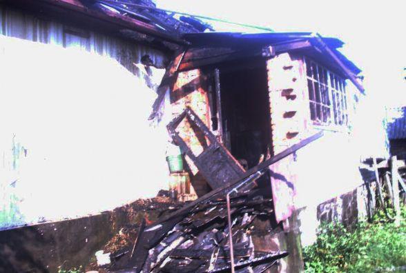 У будинку в Полонному згоріла 94-річна жінка