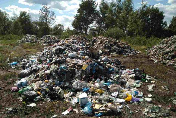 """На Хмельниччині знову знайшли """"львівське"""" сміття"""