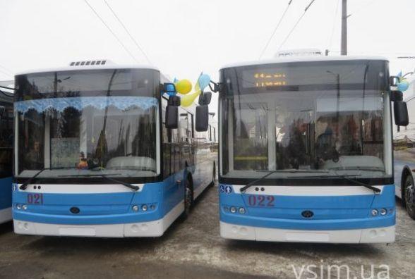 У Хмельницькому може з'явитися 7 нових тролейбусів