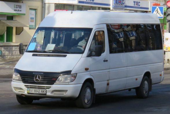 У Хмельницькому змінили схему руху маршруток №29