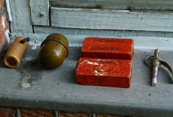 У сумці, яку пенсіонер знайшов на Дубово, виявилася різнокаліберна зброя