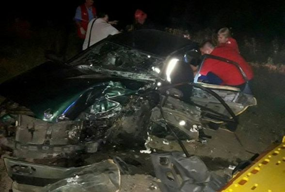 ДТП з потерпілими біля телевежі: у поліції припускають, що водій Volkswagen Passat був п'яний