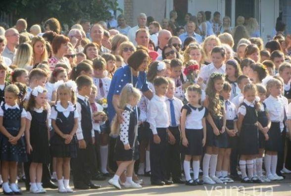 Батьки просять чиновників і депутатів не піаритися  у школах 1 вересня  (ОБГОВОРЕННЯ)