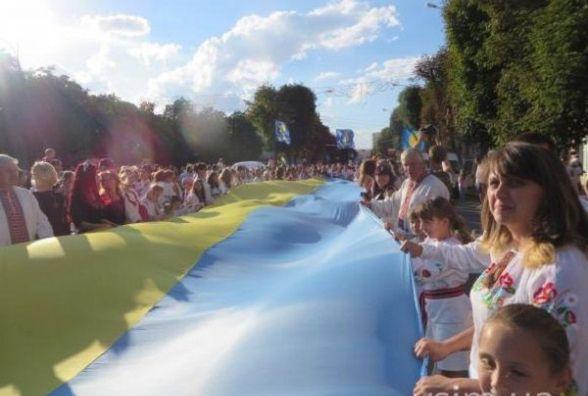 На День Незалежності у Хмельницькому пройде парад вишиванок