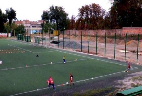 У Хмельницькому з'являться нові футбольні поля при ДЮСШ № 1
