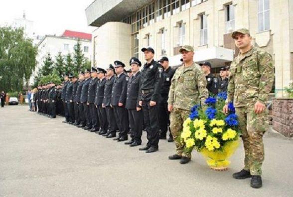 У Хмельницькому вшанували пам'ять правоохоронців, які загинули при виконанні свого обов'язку