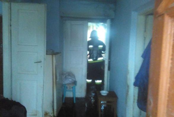 Через недопалок загорівся житловий будинок у Волочиському районі