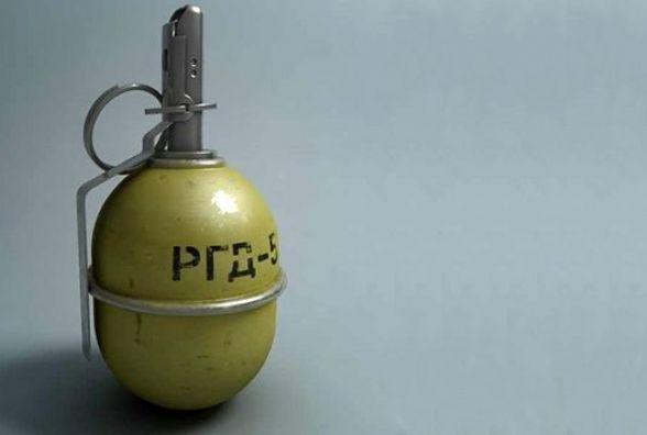 Хмельничанина затримали із гранатою на Донбасі