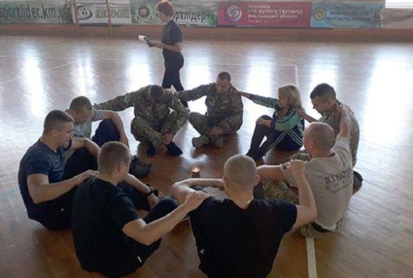 На Хмельниччині організували психологічний тренінг для бійців АТО та спецпризначенців