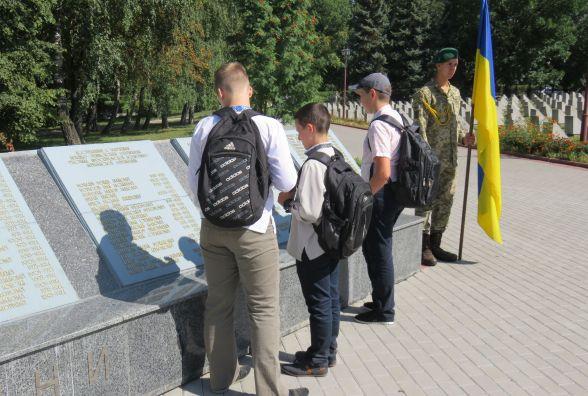 72 роки тому закінчилася Друга світова війна: хмельничани вшанували пам'ять загиблих