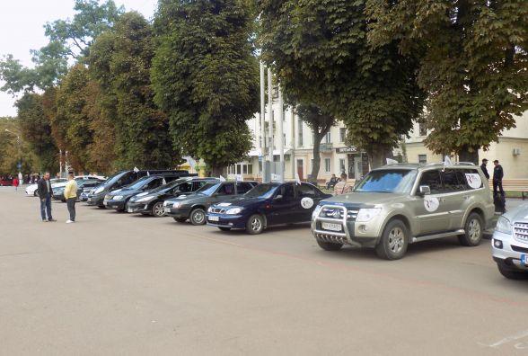 Всеукраїнський автопробіг до 500-річчя Реформації відвідав Хмельницький