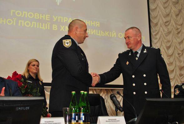 Користувачі соцмереж про нового начальника поліції Хмельниччини: що пишуть