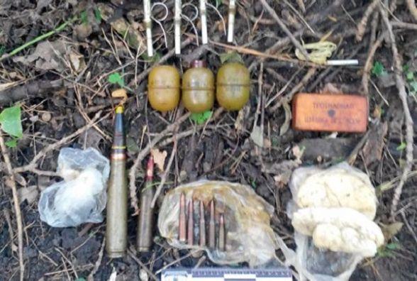 Гранати, вибухівка, снаряди та набої: на Чемеровеччині селянин обзавівся арсеналом зброї