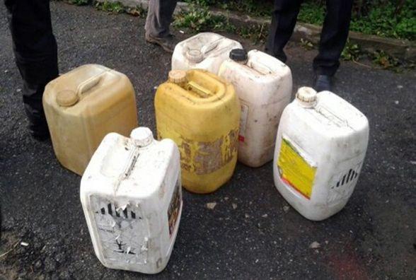 Затримали злочинців, які винесли з ферми на Теофіпольщині 35 каністр з дизпаливом