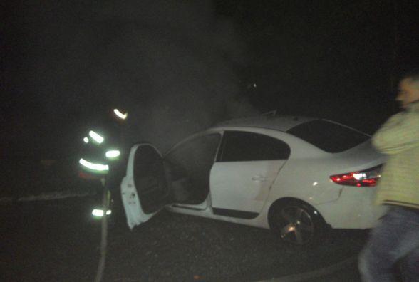 У Красилові загорівся автомобіль